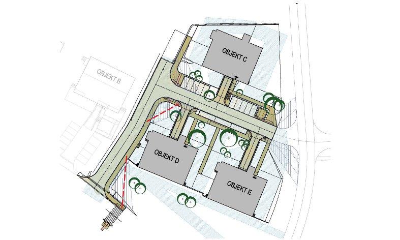 limity výsadeb zeleně u bytového domu