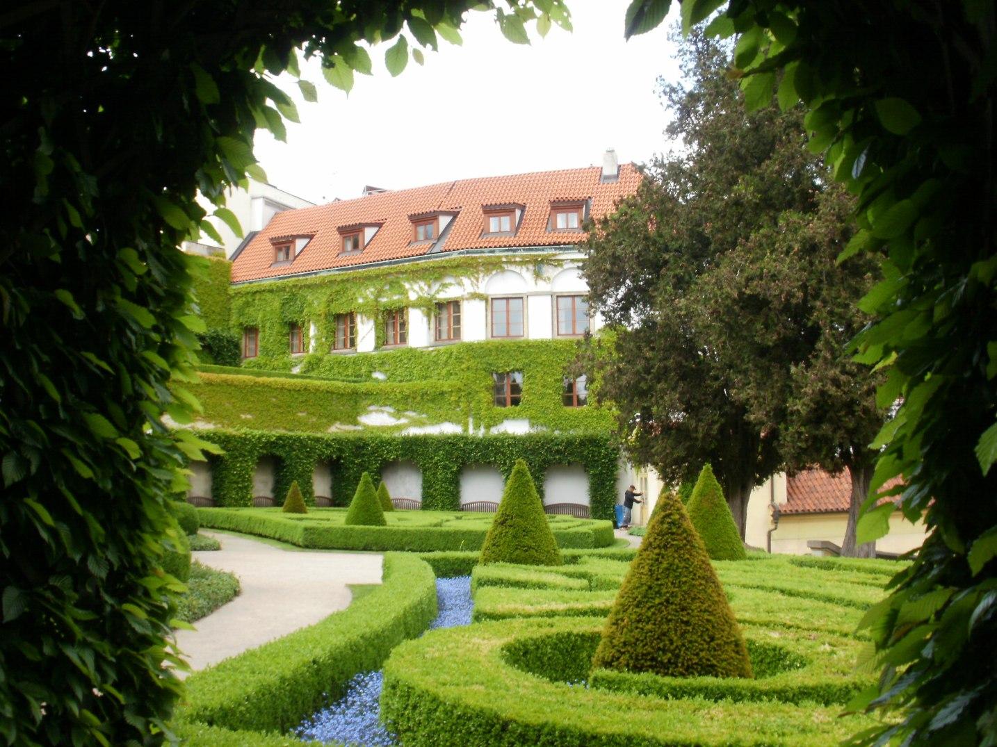 Vrtbovská zahrada - průhled