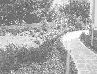 rodinná zahrada v Praze Malvazinkách